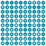 violet för sapphirine för 100 symboler för män vård- Arkivbild