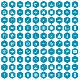 violet för sapphirine för 100 symboler för sushistång Royaltyfri Bild