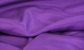 Violet fabric textile Stock Image
