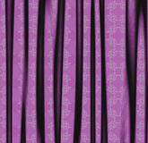 Violet fabric texture Stock Photography