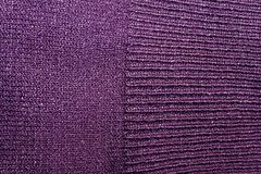 Violet fabric texture useful as a background. For web site or mobile devices Royalty Free Stock Photo