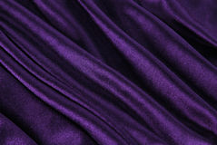 Violet fabric wave Royalty Free Stock Images