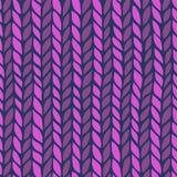 Seamless knit pattern Stock Image