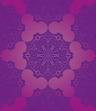 Violet fantasy seamless pattern Royalty Free Stock Photography