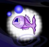 Violet fish Stock Image