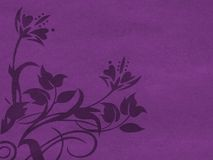 Violet floral background Royalty Free Stock Photography