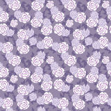 Violet floral pattern Stock Photos
