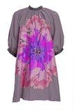 Violet flower dress Stock Image