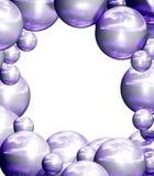 Violet frame Stock Image