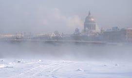 Violet frosty haze Royalty Free Stock Images