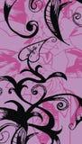 Violet garden Royalty Free Stock Image