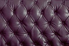 Violet genuine leather Royalty Free Stock Image