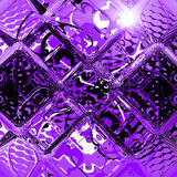 Violet glass Royalty Free Stock Images
