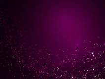 Violet glitter flow background 014 Royalty Free Stock Images