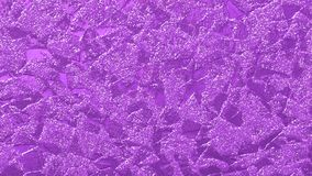 Violet glittery, rough and grungy texture for creative festive and bright designs. Background, backdrop, wallpaper, cards, surfaces, textile, fabric and design Stock Image