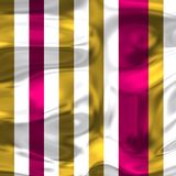 Violet with golden stripes and white bright stripes. Imagen for fashion and fans of colors sports Royalty Free Stock Photo