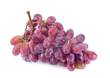Violet grape fruit Stock Photography