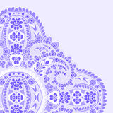 Violet greeting card. Royalty Free Stock Image