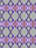 Violet and grey abstract  geometric pattern, background. Unusual and simple abstract  geometric pattern, vector seamless from abstract forms in violet and grey Stock Photography