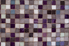 Violet and Grey Mosaic Stock Photos