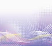 Violet halftone background. Vector illustration royalty free illustration