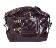 Violet handbag Royalty Free Stock Photos