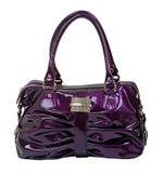Violet handbag Stock Photo