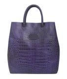 Violet handbag Royalty Free Stock Photo