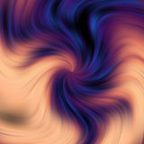 Violet hypnotic lines, abstract background. Violet and beige hypnotic abstract background. Vibrational abstract background Royalty Free Stock Photography