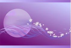 Violet imagination Stock Images