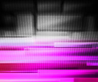 Violet Information Technology Background Concept Stock Photography
