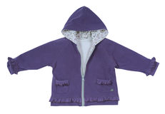 Violet jacket Stock Photos