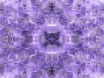 Violet kaleidoscope Stock Photography