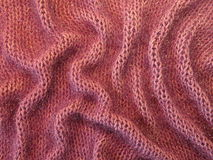 Violet knitting Stock Photo