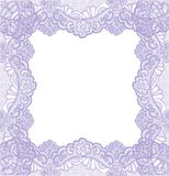 Violet lace Royalty Free Stock Images