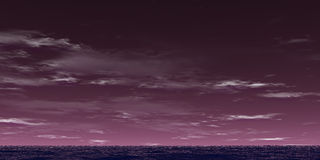 Violet landschap royalty-vrije stock afbeelding