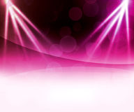 Violet Laser Abstract Background Illustration Stock