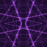 Violet Laser Beams Seamless Background Royalty Free Stock Photos