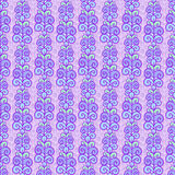Violet leaf striped pattern. Violet seamless floral leaf pattern texture background Stock Photo