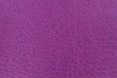 Violet leather texture or background Stock Images