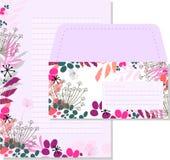 Violet letter set Royalty Free Stock Image