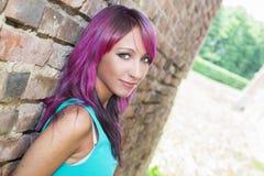 Violet Light Stockbild