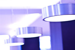 Violet lights Royalty Free Stock Photos
