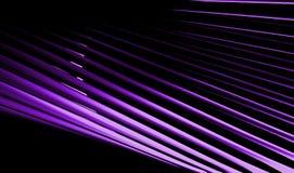 Violet Lines Background foncée abstraite Photos libres de droits