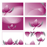 Violet lotus graphic vector illustration Royalty Free Stock Images