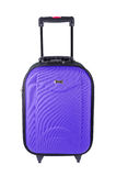 Violet  luggage  Stock Images