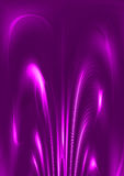 Violet luminescence Royalty Free Stock Image