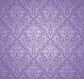 Violet luxury vintage wallpaper Stock Photography