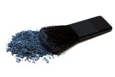Violet make-up eyeshadows Royalty Free Stock Image