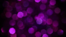 Violet Merry Christmas Magical Bokeh Lights Background  Full HD